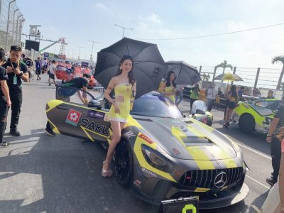 """The 66th Macau Grand Prix held on 14th – 17th November 2019 was completed successfully.  Taiwan Sakura is pleased to participate and sponsor Kang's Racing Company to participate """"Suncity Group Greater Bay Area GT Cup"""" this year."""
