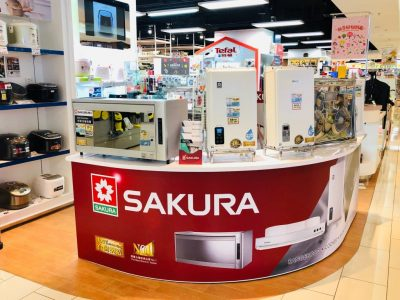 Sakura joins APITA Home Electric Fair from 3 June to 1 July 2020 at Tai Koo Shing APITA.  A full range of Sakura appliances, including gas cooker, built-in hob, rangehood, gas water heater and dish sterilizer is on promotion.  Please come and visit us.